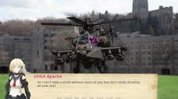 Attack Helicopter Dating Simulator screenshot 2