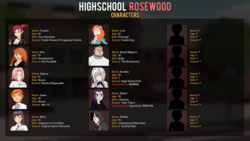 Highschool Rosewood screenshot 3