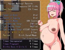 Hazumi and Pregnation screenshot 1