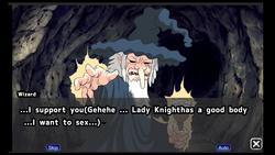 Touching Live2D Ork Sex With Lady Knight screenshot 2