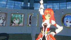 VR GALLERY - Cute Anime Girl Exhibition screenshot 5