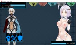 Mecha Girl : Donjon X Battle screenshot 3