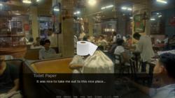 Toilet Paper Dating Simulator screenshot 1