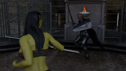 Orc's Quest: A dick girl's tale screenshot 15