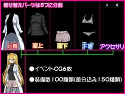 The Girl and flowers (E&N video arcade) screenshot 1