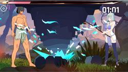 Strike! Ovulation Divine Fist! Rebellion to Extinction! screenshot 1