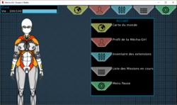 Mecha Girl : Donjon X Battle screenshot 4