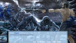 King of the Raft - A LitRPG Visual Novel Apocalypse Adventure screenshot 13
