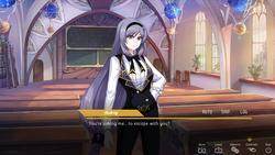 Perfect Gold - Lesbian Visual Novel screenshot 4