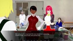 Welcome to Bell College - Charme et Sortilège screenshot 1