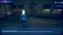 District-7: Cyberpunk stories screenshot 1