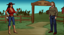 A Visit to the Double D Ranch screenshot 0