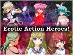 Erotic Action Heroes! screenshot 6