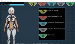 Mecha Girl : Donjon X Battle screenshot 1