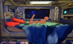 SpaceGirl Retro Synth screenshot 0