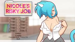 Nicole's Risky Job screenshot 0