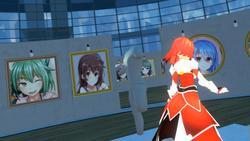 VR GALLERY - Cute Anime Girl Exhibition screenshot 0