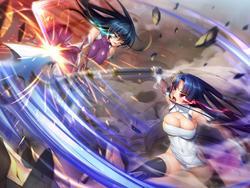 Taimanin Asagi .ZERO screenshot 1