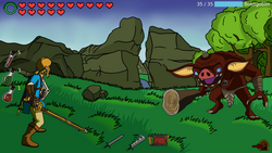 Links of Cross-Verse screenshot 1