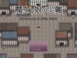 Misfortune of Little Witch screenshot 3