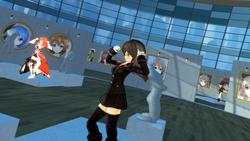 VR GALLERY - Cute Anime Girl Exhibition screenshot 1