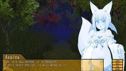 Fox Indecent Forest: A dungeon where a fox girl seeds a monster girl screenshot 0