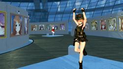 VR GALLERY - Cute Anime Girl Exhibition screenshot 3