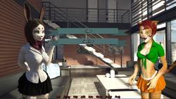 Voronica Cleans House: a Vore Adventure screenshot 3