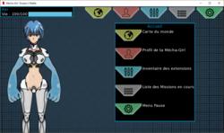 Mecha Girl : Donjon X Battle screenshot 5