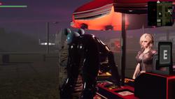 SpaceGirl Retro Synth screenshot 1