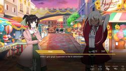 Perfect Gold - Lesbian Visual Novel screenshot 5