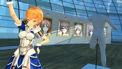 VR GALLERY - Cute Anime Girl Exhibition screenshot 4