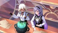 Perfect Gold - Lesbian Visual Novel screenshot 3