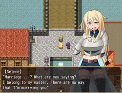 Princess Hypnosis ~ Princess knight Selene falls to the dark side with hypnosis screenshot 5