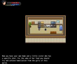 Sim GD - Foot service for sister screenshot 5