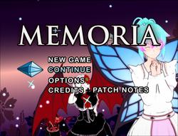 Memoria screenshot 0