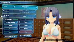 Senran Kagura Peach Beach Splash screenshot 4